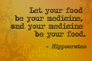 Let your food be your medicine(1)